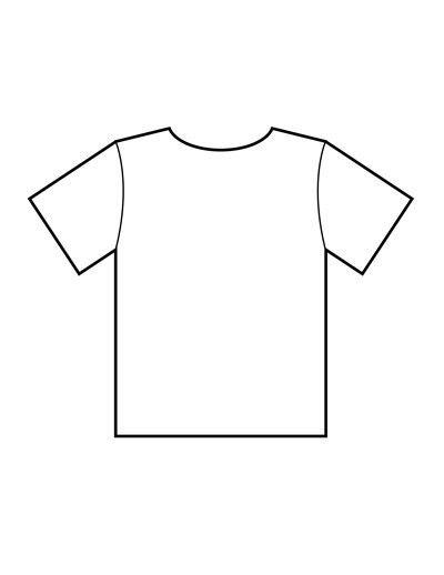 Blank T Shirt Templates | PDF