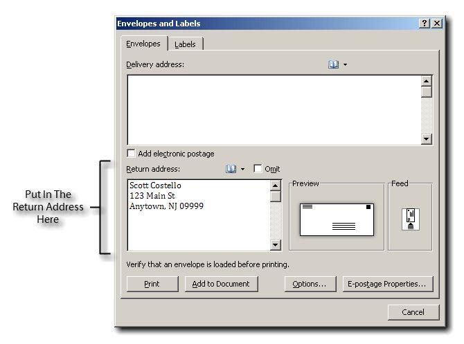 Create New Envelope Template