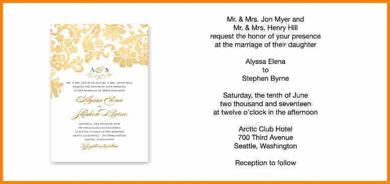 2+ wedding invitation formats in english | employee-timesheet