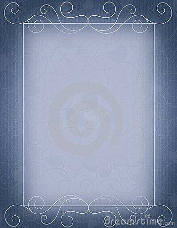 Wedding Invitation Background Designs Free Download Blue ~ Yaseen ...