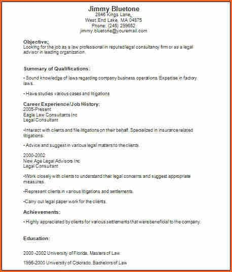 6+ basic resume examples - Budget Template Letter