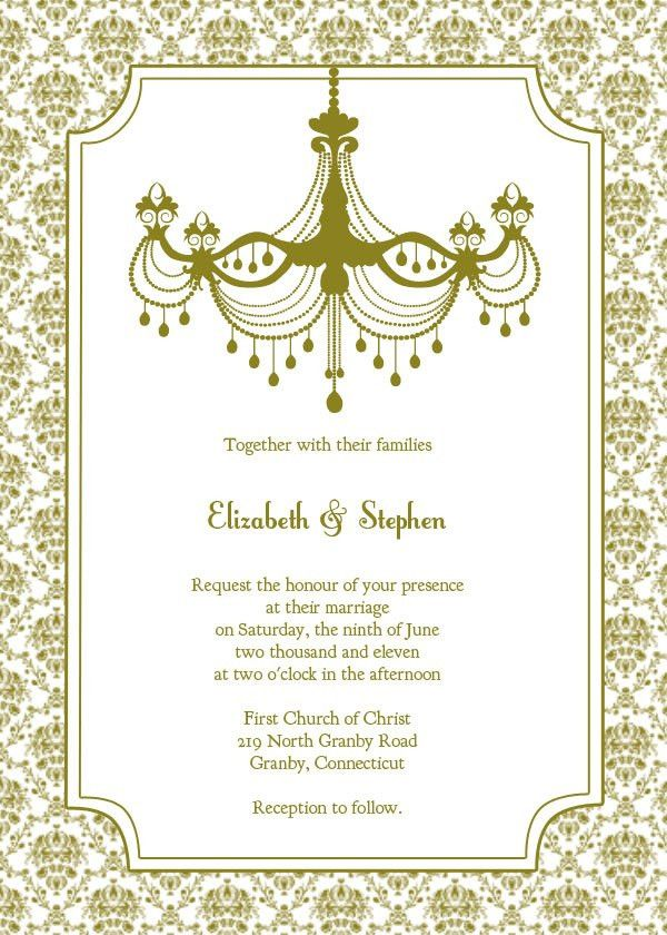 Wedding Invitation Templates Free | THERUNTIME.COM