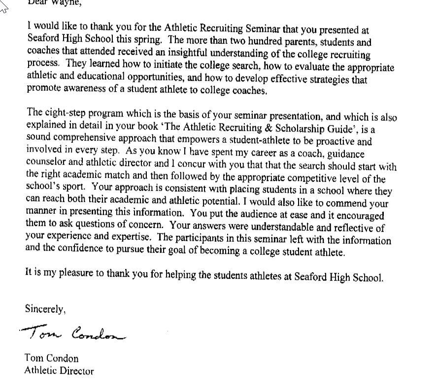 Swim Coach Cover Letter
