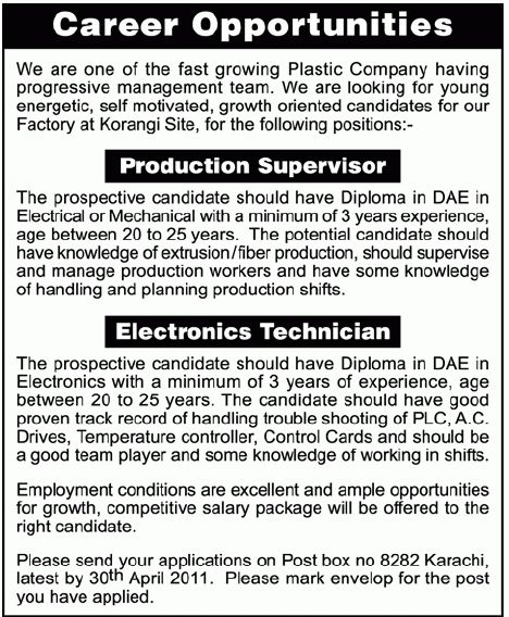 electronics technician job in gujranwala 2013 may latest at master ...