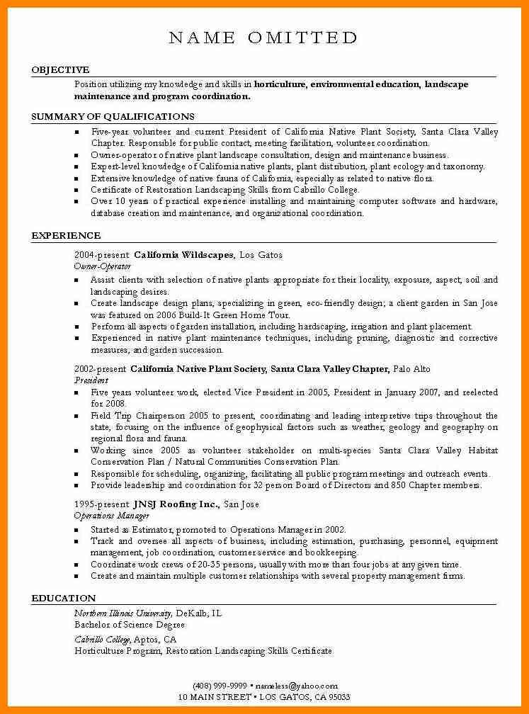 Objective Examples On Resume, resume summary example general ...