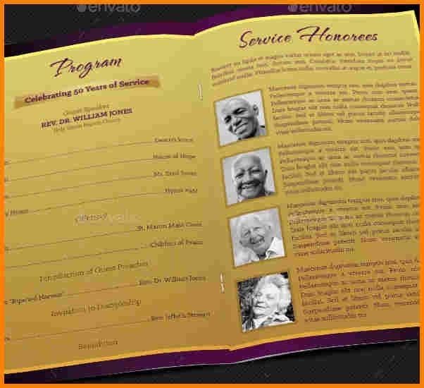 8+ church anniversary program template | resume reference