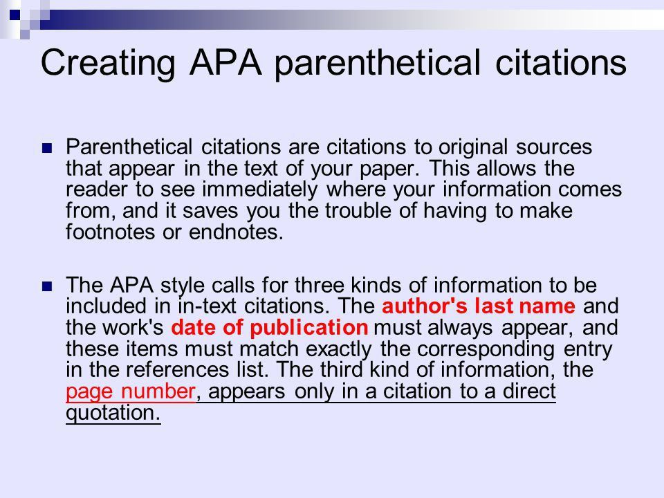 論文基本架構和格式 MLA vs. APA. - ppt download