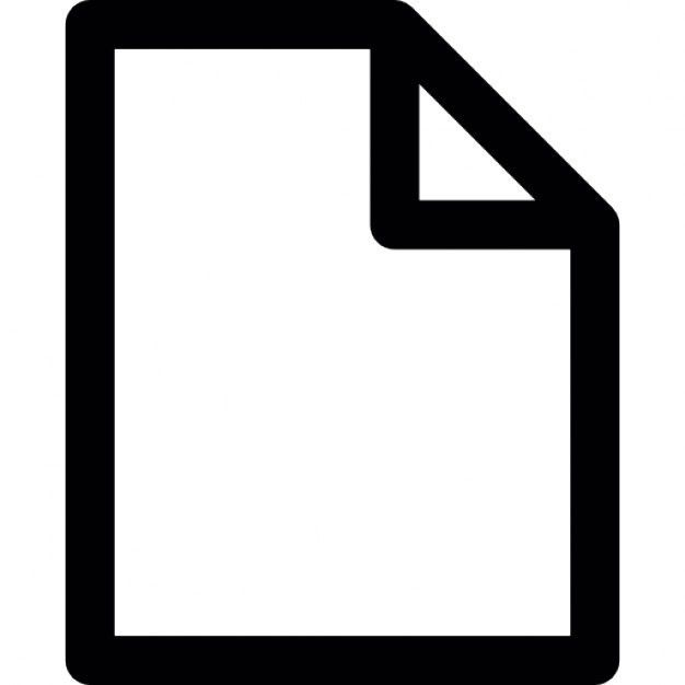 Blank document Icons | Free Download