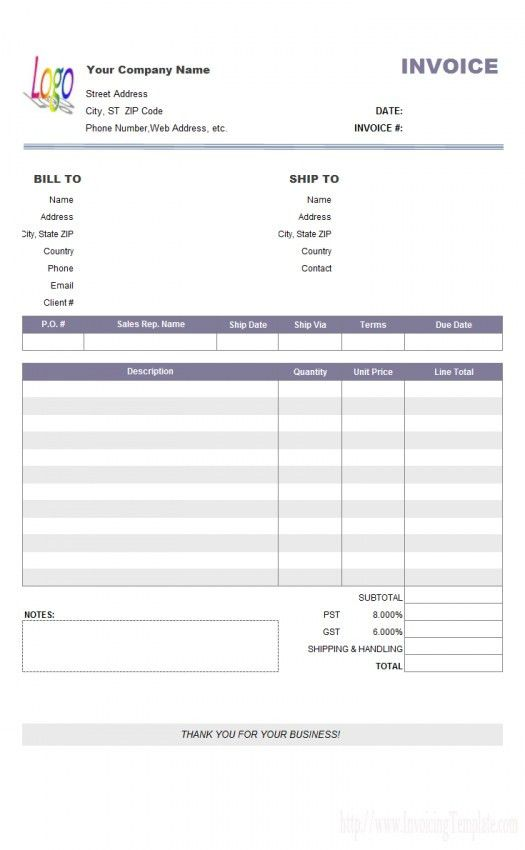 Simple Invoice Alternative | Design Invoice Template