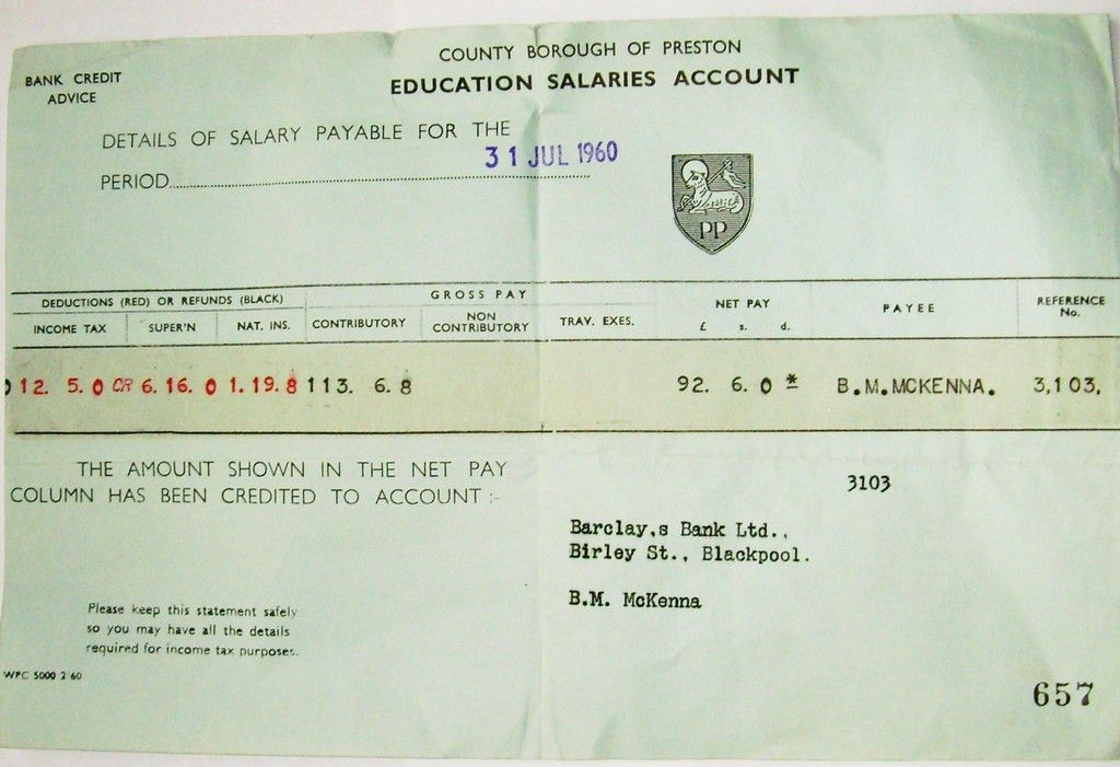 SALARY SLIP SAMPLE