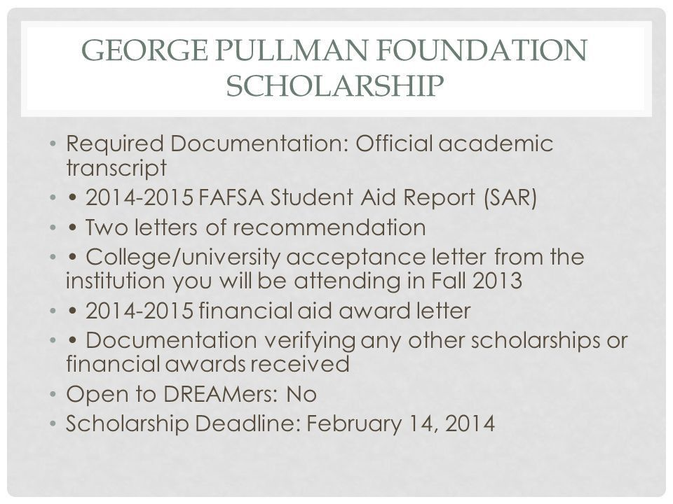 February Scholarships - ppt download