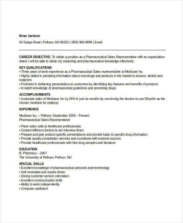 Professional Sales Resume Templates - 31+ Free Word,PDF Document ...