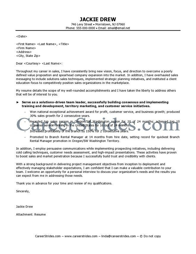 cover letter for sales assistant resume