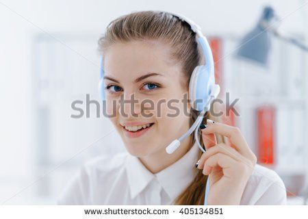 Woman Call Center Specialist Stock Photo 405128878 - Shutterstock