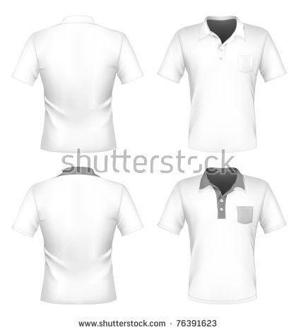 Vector Mens Polo Shirt Tshirt Design Stock Vector 75524704 ...