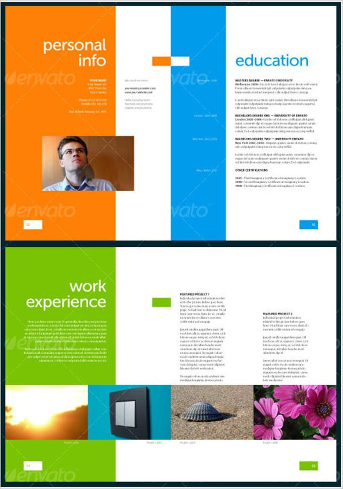 Resume Design Template PSD – 11+ Free Samples, Examples, Format ...