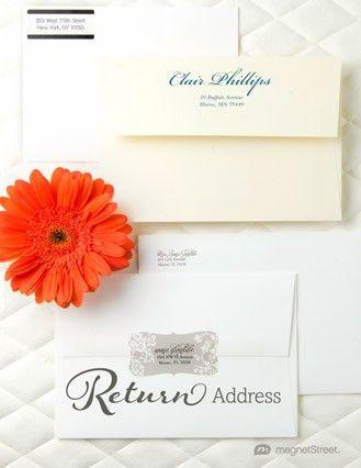 Addressing Wedding Invitations | MagnetStreet Weddings