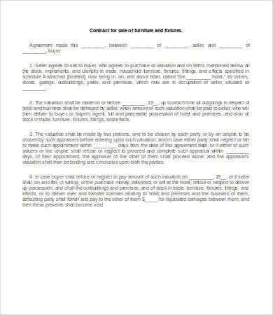 15+ Sales Contract Templates - Free Sample, Example, Format ...