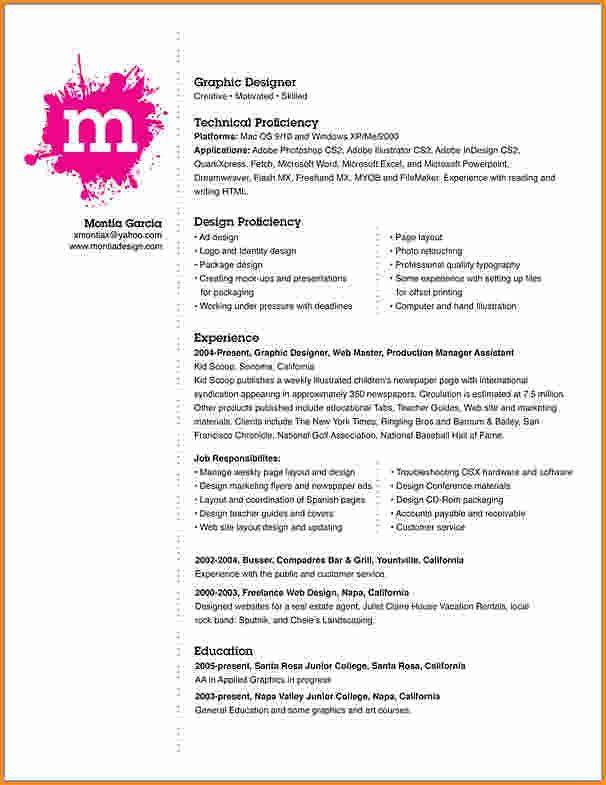 8+ graphic design resume design | Invoice Template Download