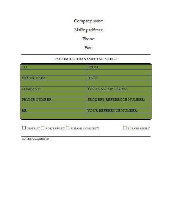 Business Fax Cover Sheet. Banner Fax Cover Sheet Banner Fax Cover ...