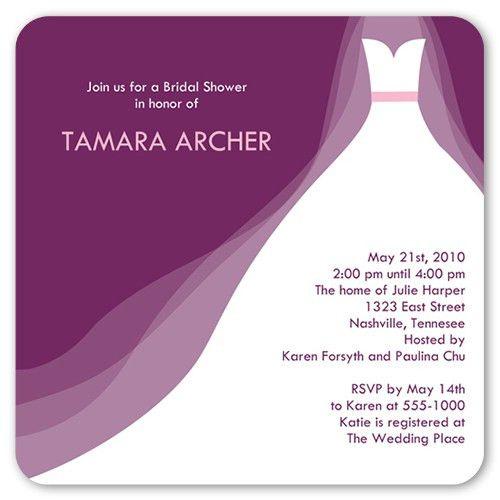 5x5 Bridal Shower Invitations & Wedding Shower Invitations ...