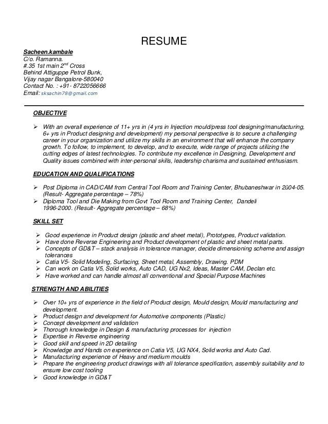 Download Memory Design Engineer Sample Resume ...