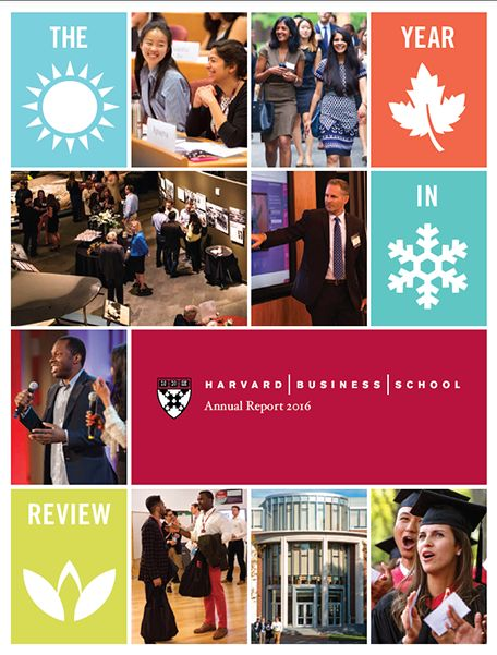 Annual Report - Harvard Business School
