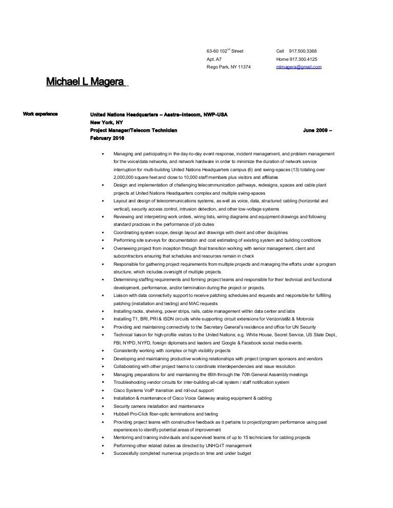 Michael Magera resume