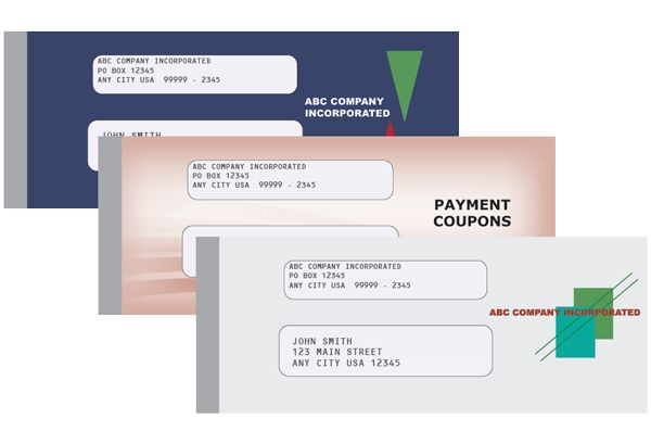 Loan Payment Coupon Book Covers