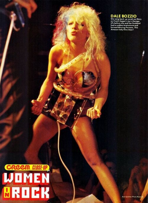 "dale bozzio | Missing Persons ""words"" 