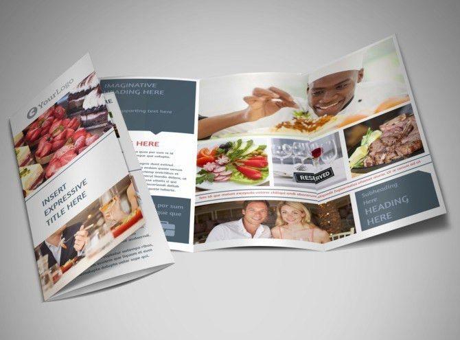 Fine Dining Restaurant Brochure Template | MyCreativeShop