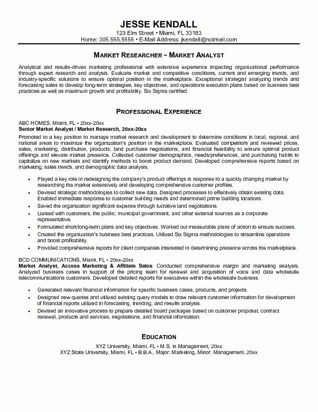 business analyst resume sample summary Great Business Analyst ...