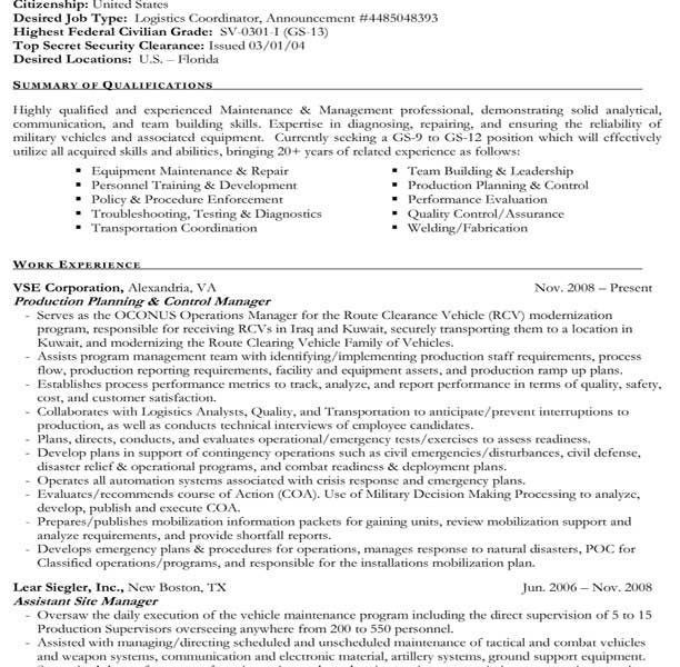 Interesting Ideas Federal Government Resume Template 2 Federal ...