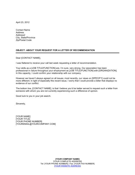 Letter Of Reference For Former Employee - Resume Acierta.us
