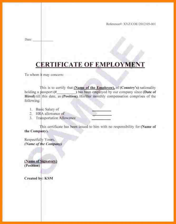 5+ certification of employment sample format | farmer resume