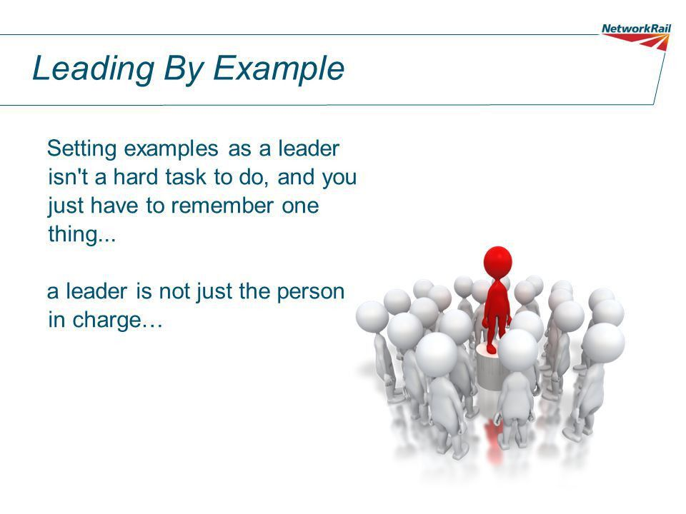 Leading by Example Learning Lite - ppt download