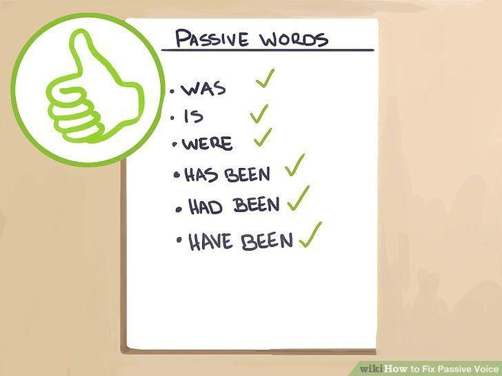 3 Ways to Fix Passive Voice - wikiHow