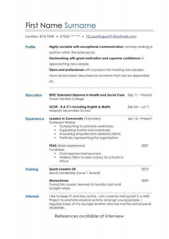 How To Layout A Resume | Samples Of Resumes