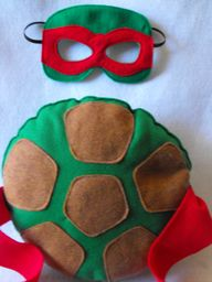 TMNT Shell and mask