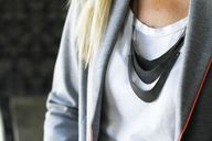 Leather Necklace DIY