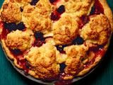 apple-berry cobbler