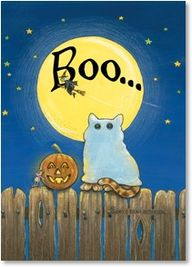 Boo... by Gary Patte