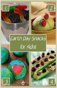Earth Day Snacks for