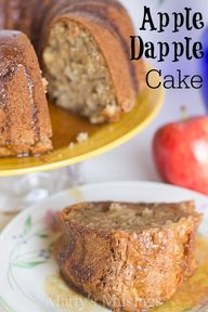 Apple Cake Recipe -