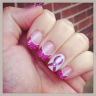 Pink Cancer Ribbon A