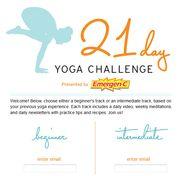 21 Day Yoga Challeng...