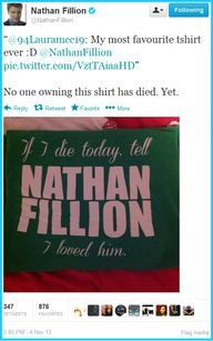 Nathan Fillion on hi