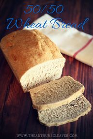 50/50 Wheat Bread #r