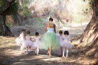 Ballarina bride