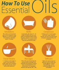 essential oil usage...
